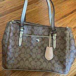 Coach Carryall Brown Purse